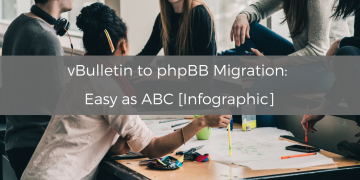 vBulletin to phpBB Migration: Easy as ABC [Infographic]