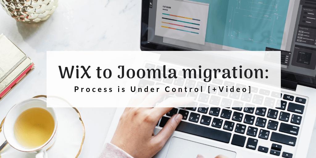 Wix to Joomla