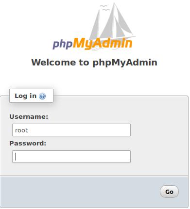 phpmyadmin