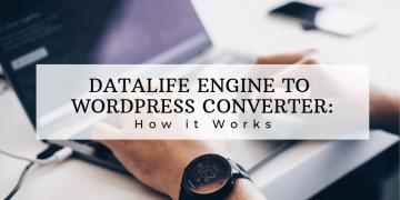 Datalife Engine to Wordpress