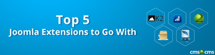 TOP 5 Joomla Extensions