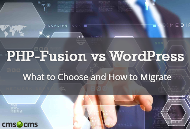 php-fusion-vs-wordpress