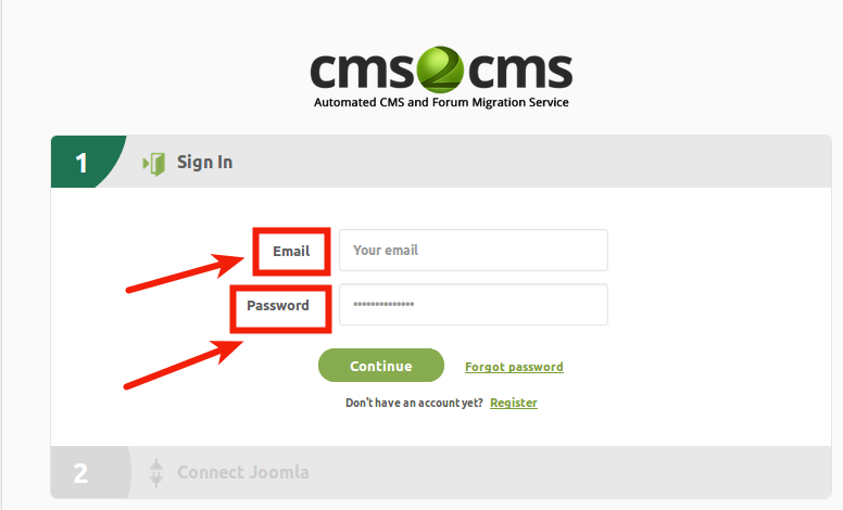 login-to-your-cms2cms-account