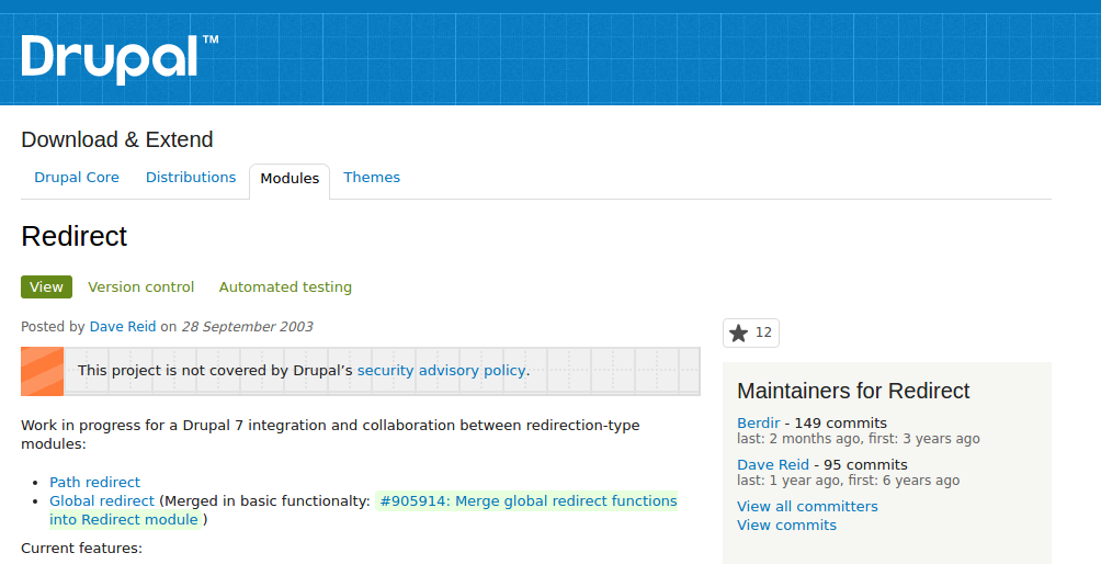 """How """"301 <br>Redirects"""" option can preserve SEO links when migrating to Drupal?"""