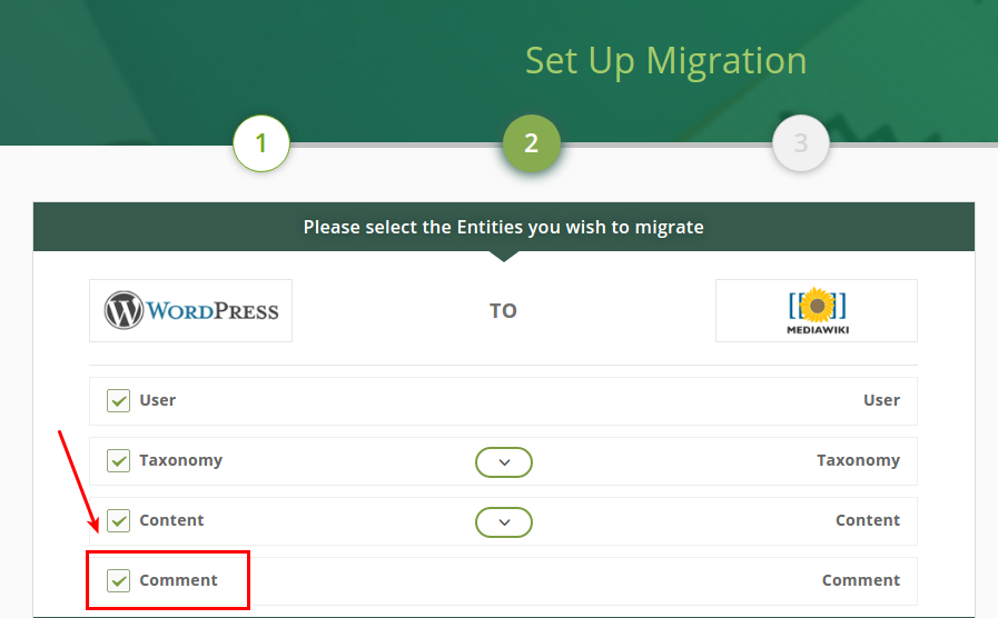 How to Migrate Comments to MediaWIki?
