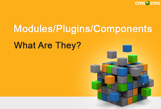 Modules, plugins, components - what are they