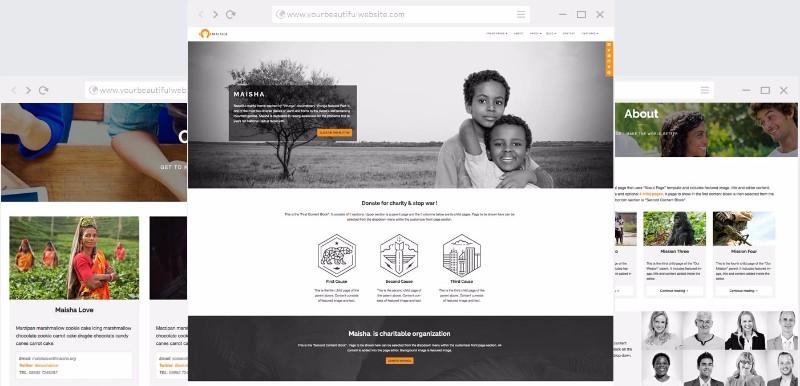 maisha_charity_wordpress_theme