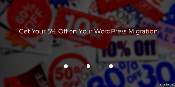 Get Your 5% Off on Your WordPress Migration!