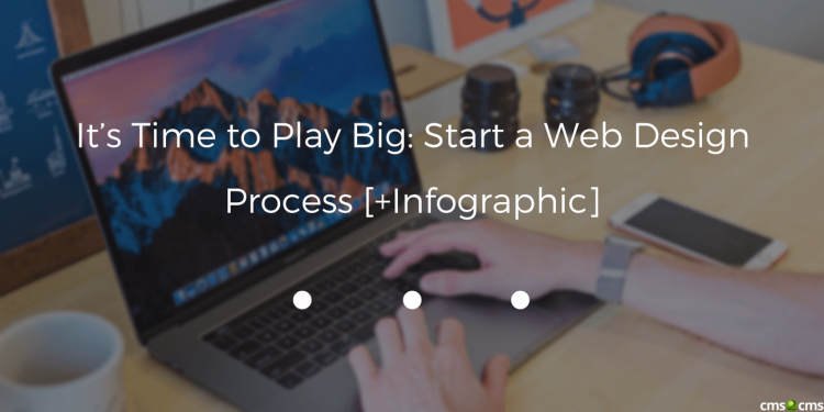 It's Time to Play Big: Start a Web Design Process [+Infographic]