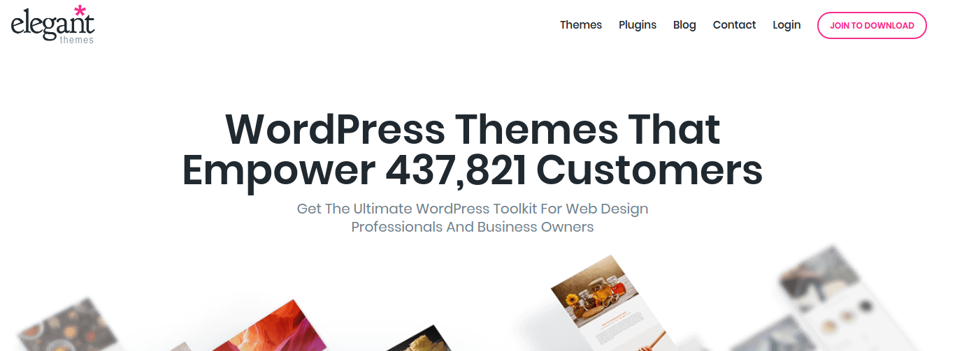 Elegant Themes blog is not only a theme collection blog but also WordPress related topics. It spotlights all the news and updates available for WordPress. Just have a look at how they accurately described in their post the ways of Wix to WordPress migration.