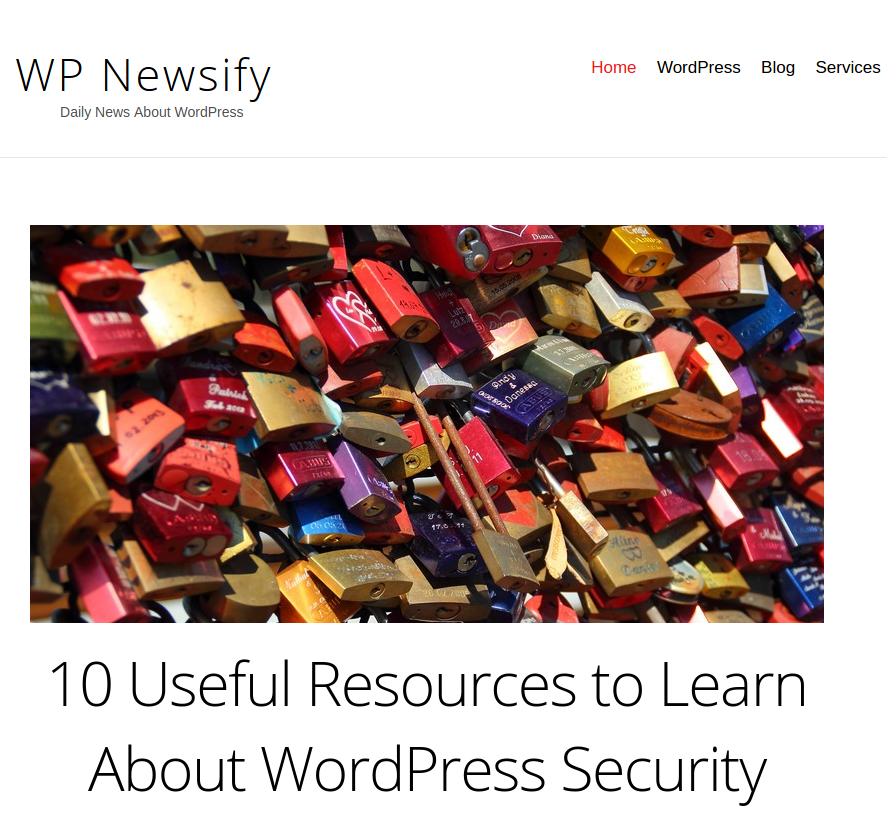 The main aim of WP Newsify blog is to help a beginner go through the basics of WordPress. It features articles, tutorials, and guides to help you use all of the features of WordPress more efficiently. It also provides theme roundups, plugin guides and the latest news on blogging. Newsify also features guest posts and stories contributed and submitted to them.