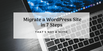 migrate a wordpress site