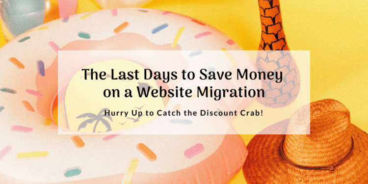 The last days of summer discount