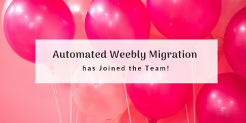 Automated Weebly Migration