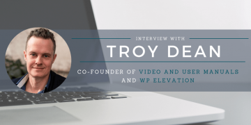 Interview with Troy Dean