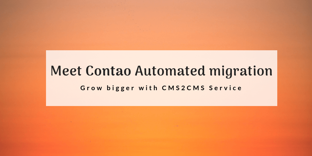 contao automated migration