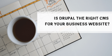 drupal for business website