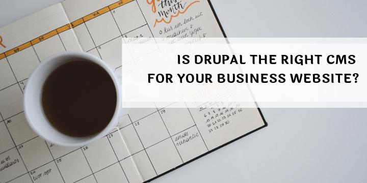 drupal for business website