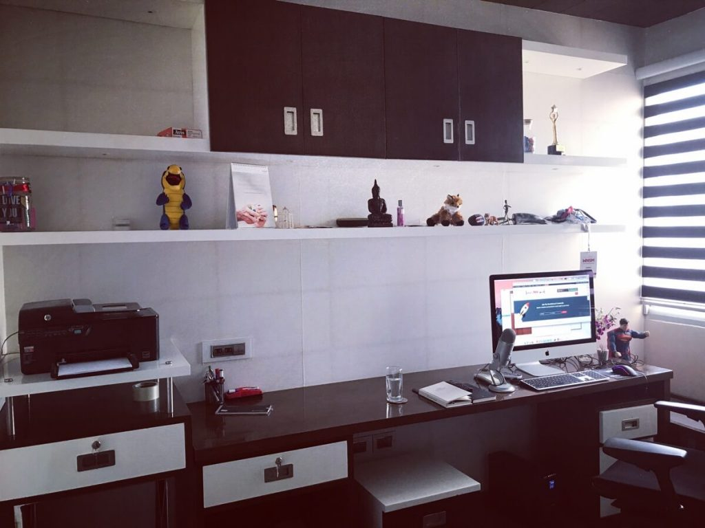 Harsh Agrawal home office