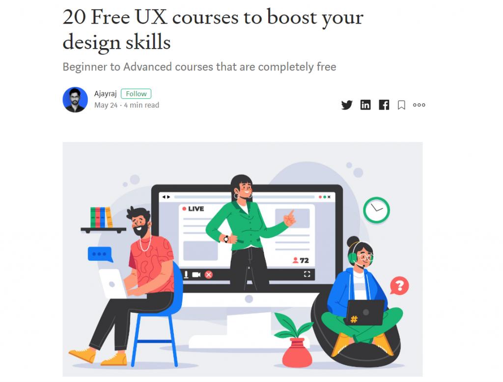 UX courses