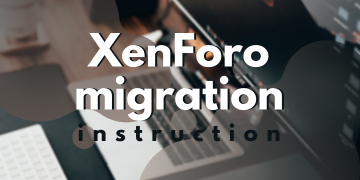 xenforo migration instruction
