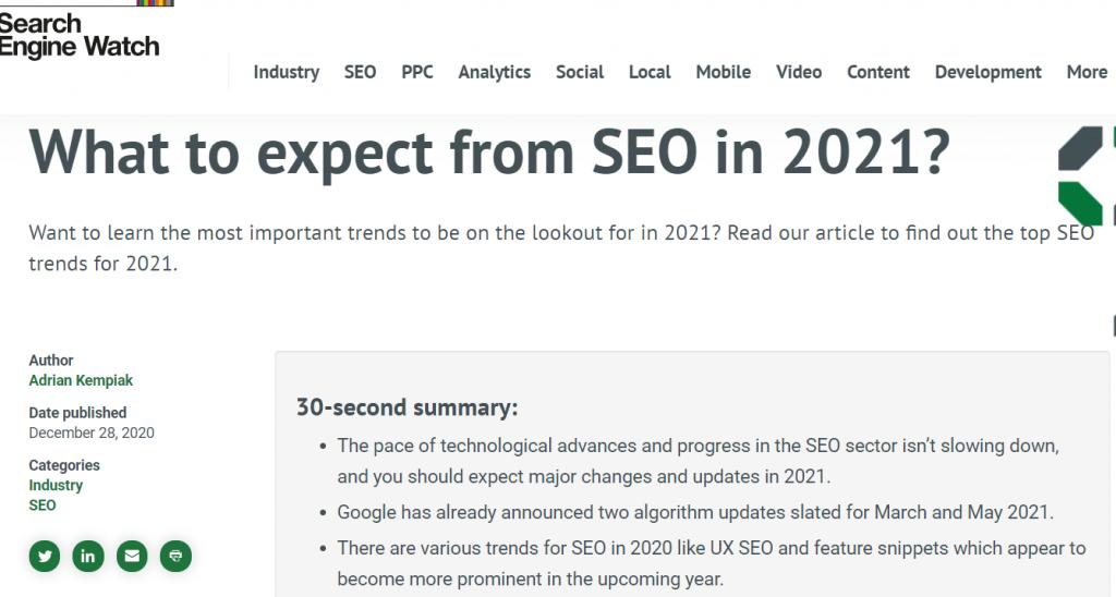 seo in 2021